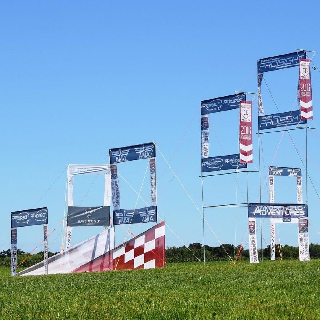Drone Race Course