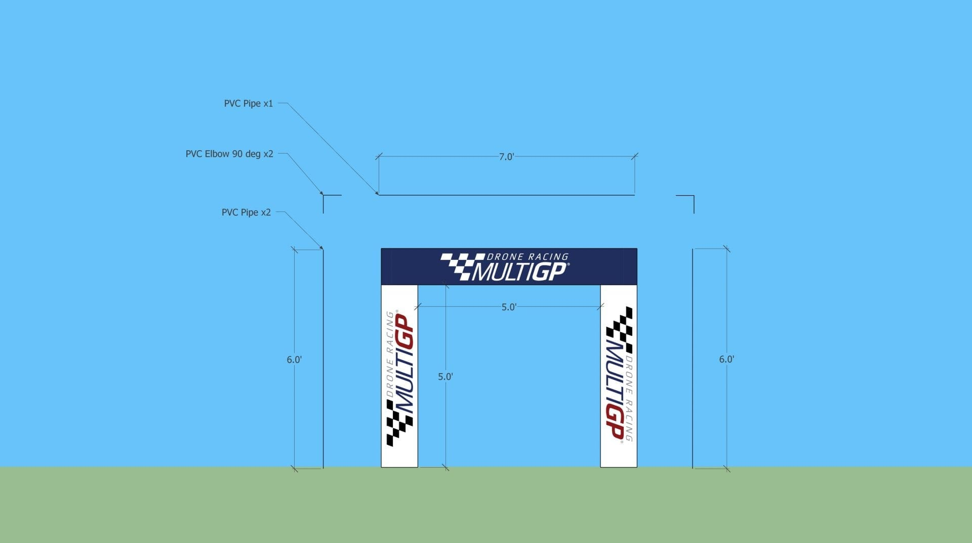MultiGP Drone Race Course Obstacles - MultiGP Drone Racing