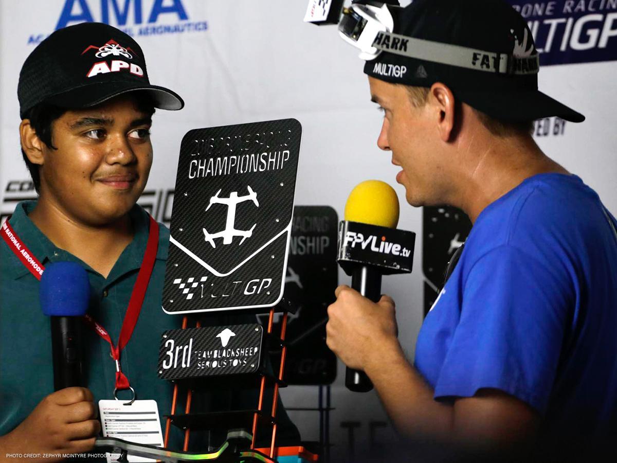 2016 MultiGP Drone Racing Championship 3rd Place Siddha Kilaru